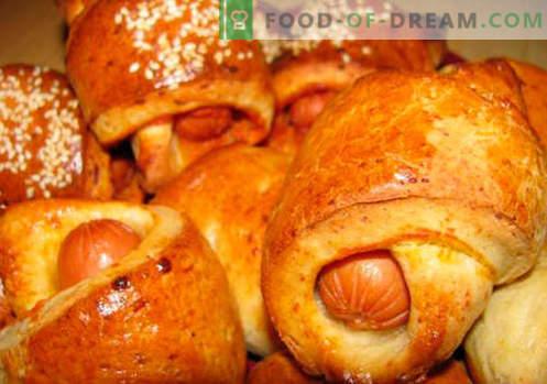 Bułeczki drożdżowe (z ciasta drożdżowego) są najlepszymi przepisami. Jak prawidłowo i smacznie obwarzanki drożdżowe gotować.