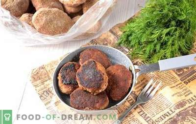 How to freeze beef patties with chicken: useful preparations for future use. Step-by-step photo-recipe of meatballs-semi-finished products: from mincemeat to freezer