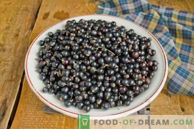 Black currant jam - simple, tasty, useful!