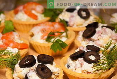 Tartlets are the best recipes. How to properly and tasty cook tartlets.