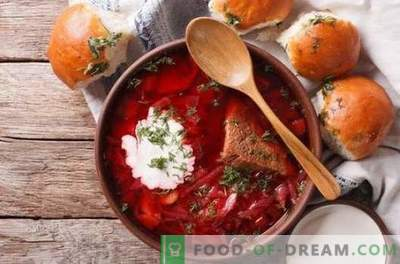 How is Ukrainian borsch different from Russian?