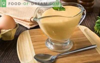 Hollandaise sauce or Hollandez is from France! Recipes of new and classic Dutch sauces with lemon, mustard, wine, juices