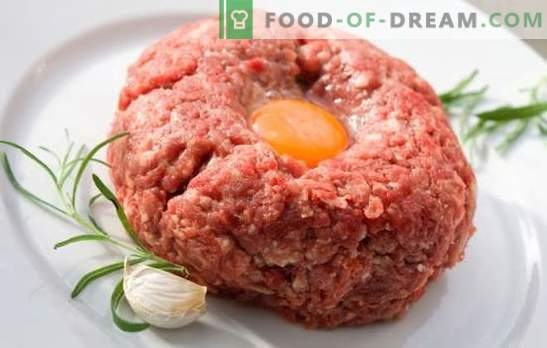 What to cook for dinner quickly from minced meat: main dishes, pastries. Detailed description: how to quickly cook a dinner of minced meat