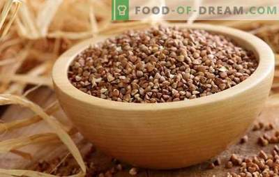 How to cook buckwheat: various cooking methods and professional advice. Recipes from boiled buckwheat