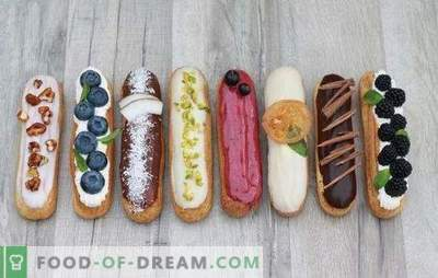 Glaze for eclairs is the final touch of dessert perfection. How to cook a variety of glaze for eclairs easily and quickly