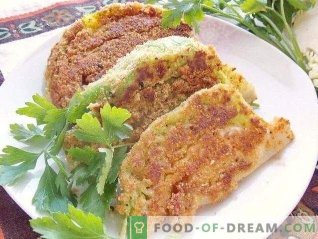Young Cabbage Schnitzel