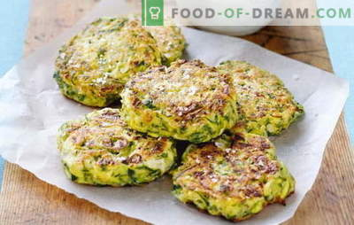 Zucchini cutlets - lightness and taste of summer vegetables. Various recipes for zucchini cutlets: with oatmeal, chicken, fish, meat