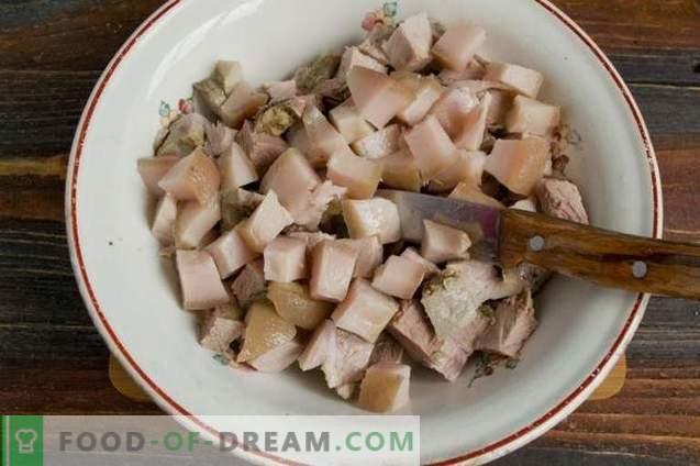 Rustic Meat Salad