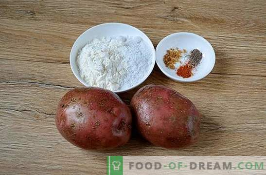 Potatoes in the oven like a campfire: a step-by-step photo recipe. When you want potatoes from the fire, but the weather does not have a picnic - there is a solution!