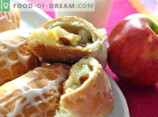 Apple patties are the best recipes. How to properly and tasty to cook the pies with apples.