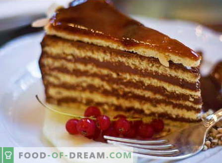 Cake made from the cake - the best recipes. How to properly and tasty to make a cake from the cake.
