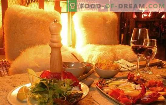 Ideas for a romantic dinner