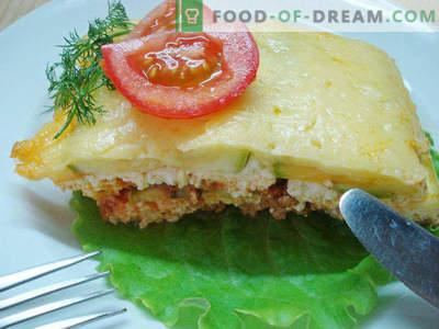 Lasagna with Zucchini