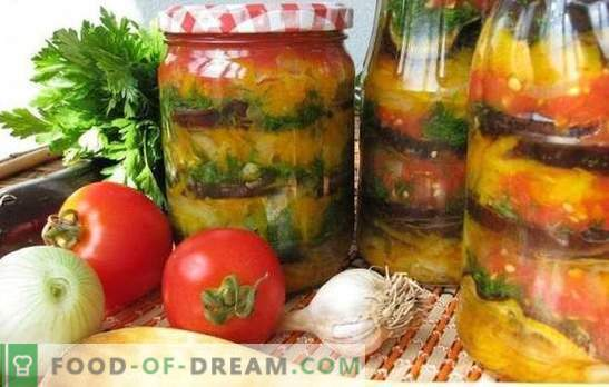 Armenian snack for the winter: tasty, easy, fast. The best recipes of the Armenian snack for the winter with tomatoes, eggplants, zucchini, pepper