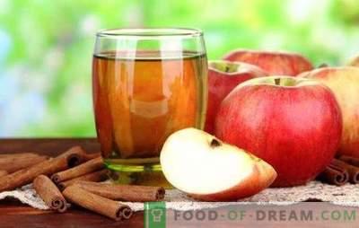 Сокът от ябълки без сокоизстисквачка е полезна натурална напитка. Най-добрите рецепти за сок от ябълки без сокове