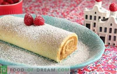 Sponge cake with cottage cheese - homemade flavor! Recipes of tender biscuits with cottage cheese and eggs, butter, kefir, sour cream, apples