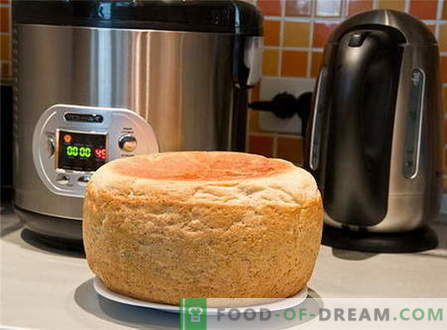 Bread in the crock-pot - the best recipes. How to properly and tasty cook bread in a slow cooker.