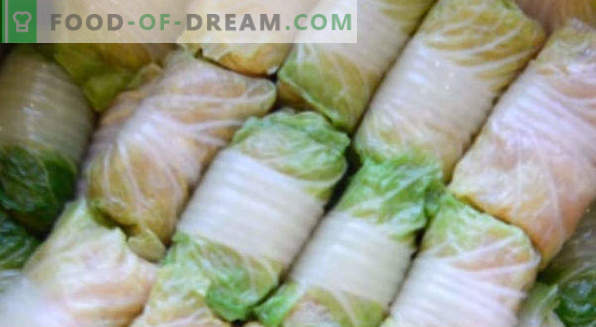 Cabbage cabbage rolls in the oven, multi-cooker, in cream sauce, with tomato