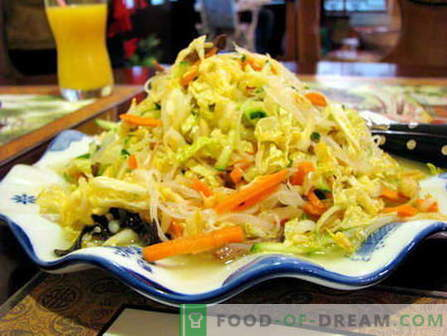 Peking salad - the best recipes. How to properly and cook Peking salad.