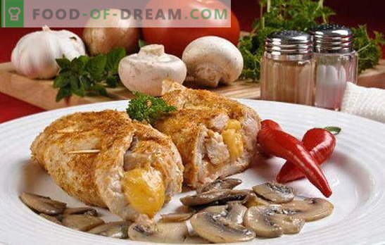 Cutlets with mushrooms - in all taste! Different types of meatballs with mushrooms: ordinary, stuffed, lean, meat and chicken