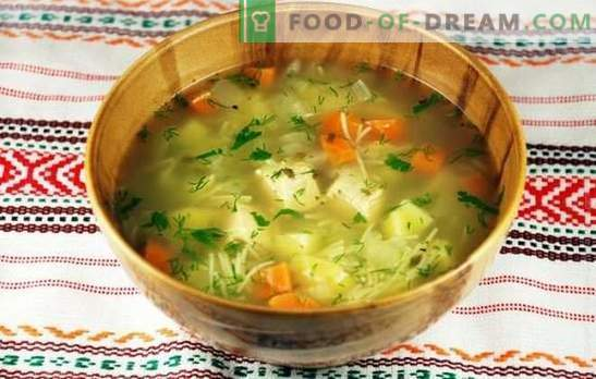Chicken soup with potatoes: an appetizing and nutritious dish. Proper preparation of chicken soup with potatoes