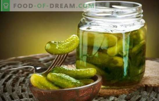 Crispy pickles for the winter - how can it be without them? A selection of traditional and new recipes for crisp pickles for the winter