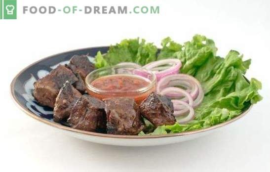 Fried beef liver: the whole secret to the freshness of the product! Recipes beef roast liver: sour cream, tomato and soy sauce