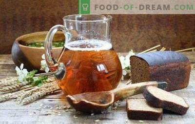 Kvass from kvass wort concentrate is the best drink in hot weather. How to make kvass from must for okroshka and drink