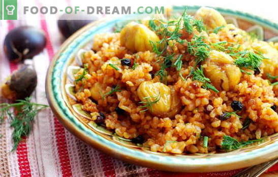 Eastern color on the table is Azerbaijani pilaf, we prepare ourselves. Special and simplest recipes of Azerbaijani pilaf