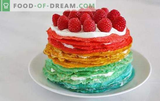 Pancake cake with sour cream: an unusual dessert or an original snack? Pancake cake recipes with sour cream for all occasions