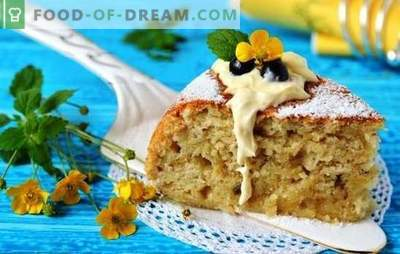 Banana cake in a multicooker - an exotic flavor! Recipes and subtleties of cooking banana pies in a slow cooker