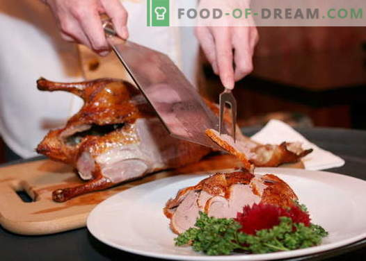Peking Duck - the best recipes. How to properly and tasty cook Peking duck.