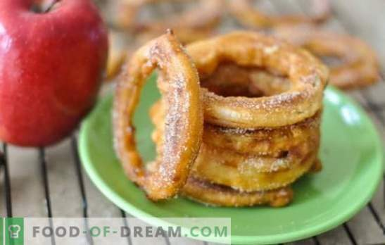 Apples in batter - impeccably delicious dessert. The best recipes for apples in batter from different types of dough: delicacy with benefits!