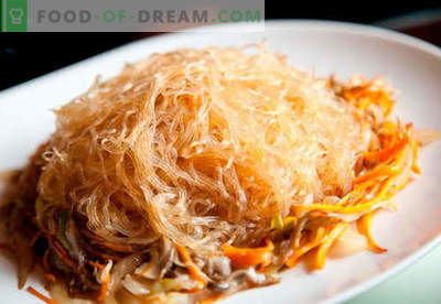 Rice noodles - the best recipes. How to properly and tasty cook rice noodles at home.