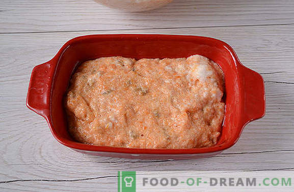 Carrot casserole: bright and tasty, almost like a cake! Author's step by step photo-recipe useful carrot casserole