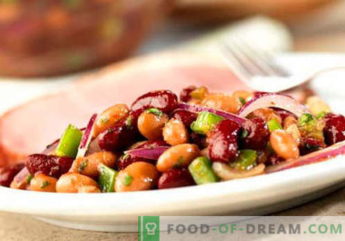 Red Bean Salad - Proven Recipes. How to cook a red bean salad.