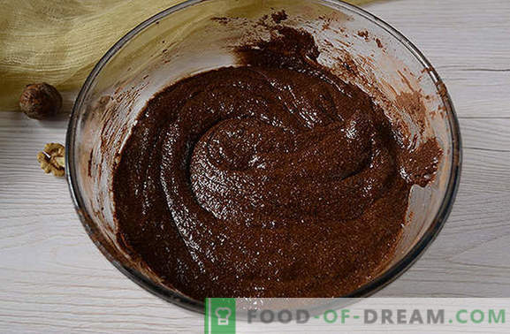 Chocolate muffins are a great start to the day. Author's step by step photo recipe of chocolate muffins with semolina