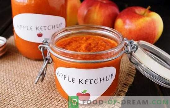 Strong arguments in favor of homemade ketchup with apples for the winter. Many flavors - homemade ketchup with apples for the winter