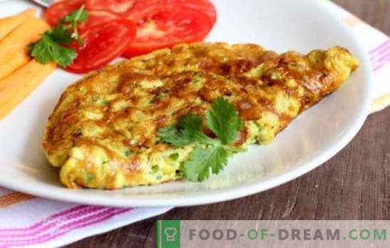 Cooking an omelet in a slow cooker: airy, ruddy with sausage, cheese, greens. How to cook an omelet in a slow cooker - teach!