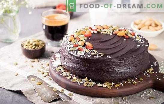 Excellent vegetarian cakes - delicate desserts  Recipes for