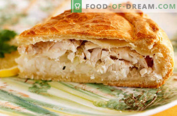 Pie with fish and potatoes - not only on Thursday! Recipes for pies with fish and potatoes: jellied, yeast, flaky