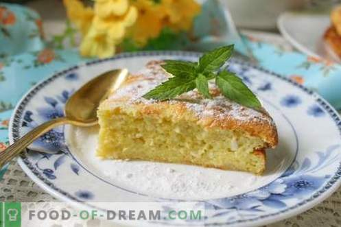 Cottage cheese casserole as in kindergarten - very tasty and airy! Step-by-step recipe with photos.