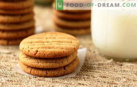 Recipes for milk biscuits for homemade tea. Honey, chocolate, nut and many other recipes for cookies on milk