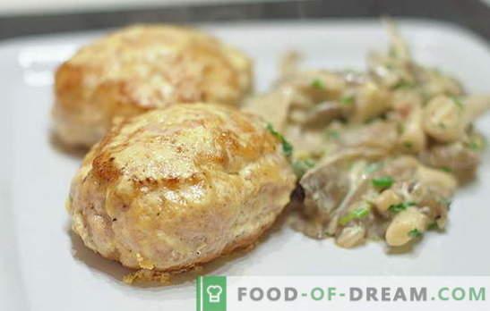 Traditional and unusual recipes for minced pork cutlets. How tasty to cook meatballs from minced pork for the whole family