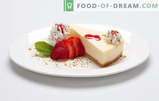 """Cheesecake """"New York"""" - American Pie? Improvisations on the New York cheesecake: recipes from Ancient Hellas and Old World"""