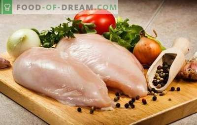 What to cook chicken fillets quickly and tasty? Cooking chicken fillet delicious roll, skewers in the oven, quick and easy salads