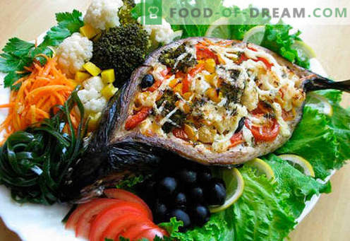 Stuffed mackerel - the best recipes. How to properly and tasty cook stuffed mackerel.