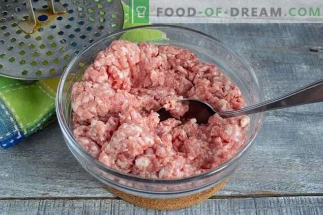 Useful minced meatballs