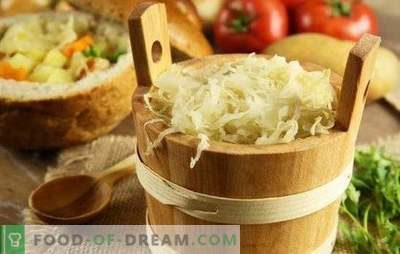 Quick sauerkraut: tricks, tips. Cooking quick sauerkraut with carrots, garlic, bell pepper