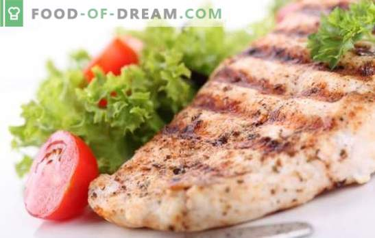 Chicken breast - a holiday of dietary taste. Methods of cooking delicious chicken breast